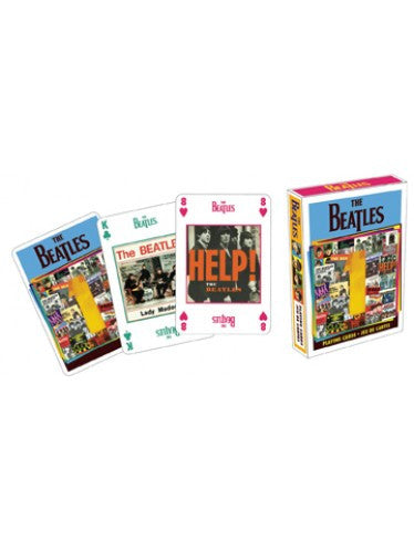The Beatles No.1 Posters Playing Cards