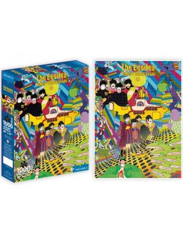 "The Beatles Yellow Submarine Poster Jigsaw Puzzle (20""x27"")"