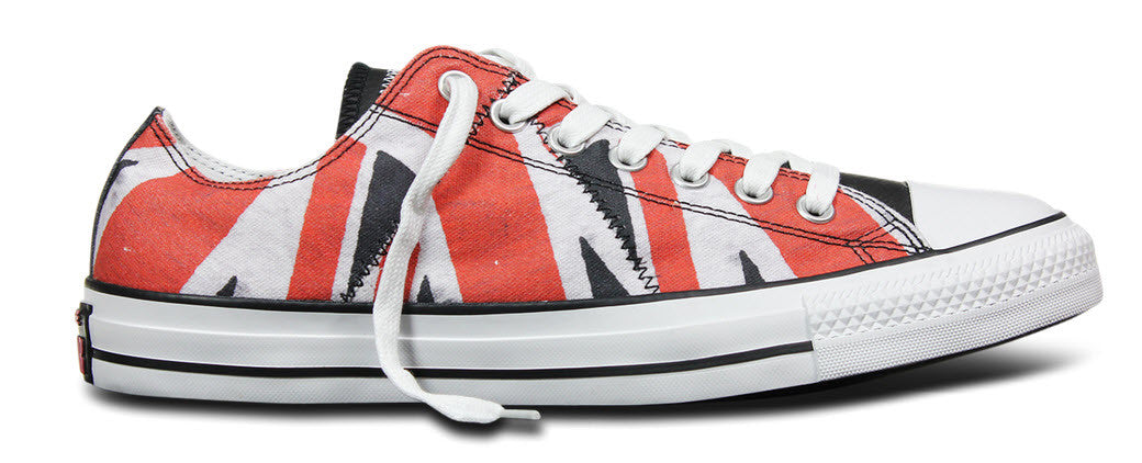 9b6e47ac118f Converse Sex Pistols white red black 151194C 1. London in 1976 was a  revolutionary year for its youth movement. The music scene exploded ...