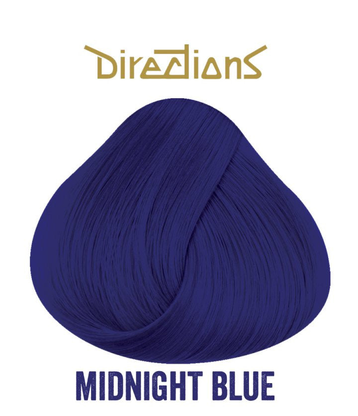 Hair Dye Directions Midnight Blue