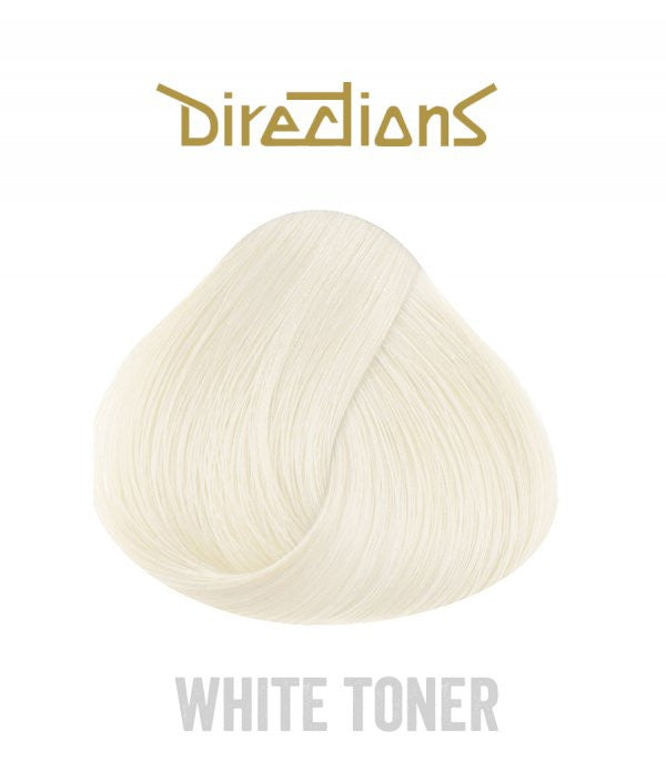 Hair Dye Directions White Toner