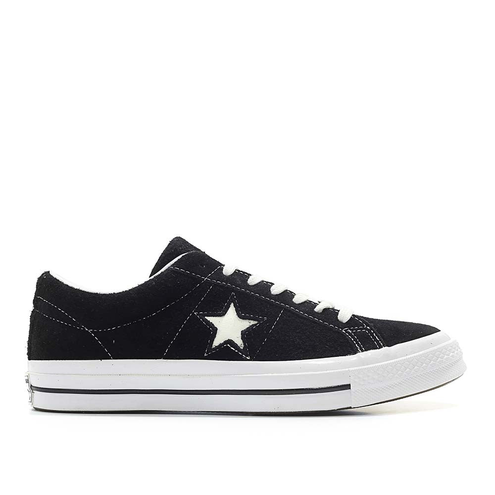 New Converse CTAS OX In BlackWhite Suede & One Star Mid In