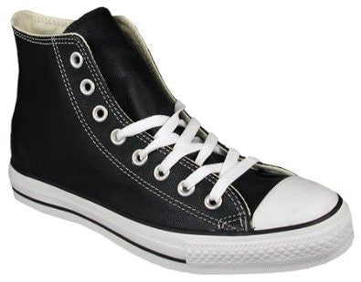 84b24c5524b954 Converse Hi Grain Black   White Leather 132170C – Famous Rock Shop