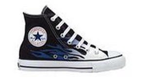 Converse Hi Flame Blue Vintage Famous Rock Shop Newcastle NSW Australia