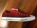 Converse Ox Dip-Dye Red Fig Varsity