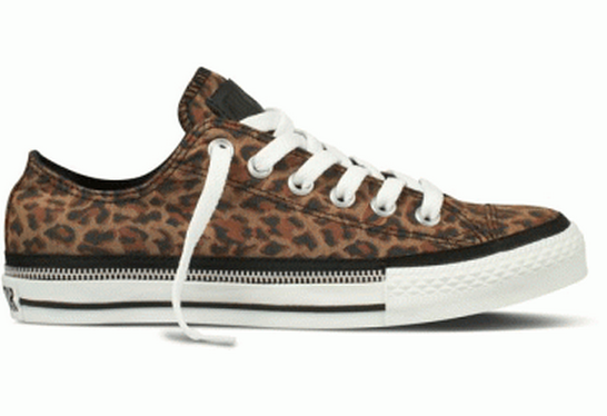 Converse Ox Zip Rand Leopard Brown