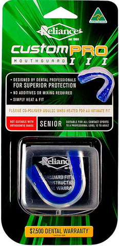 Mouth Guard Custom Pro Blue - Senior