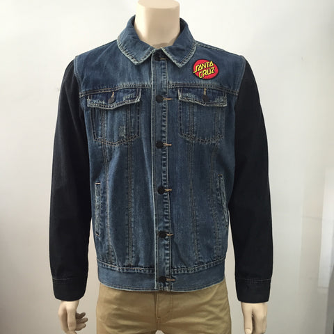 Santa Cruz Big Dot Denim Jacket 1182