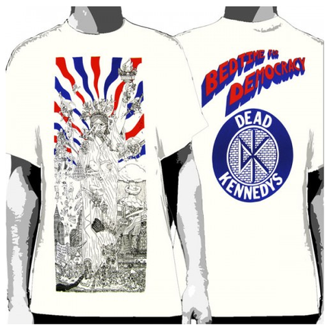 e6c974709b2 Dead Kennedys -T-Shirt Bedtime For Democracy - Men s Famous Rock Shop  Newcastle NSW