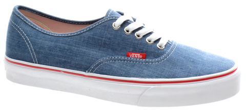 Vans Authentic (Denim) DarkBlue/TrueWhite