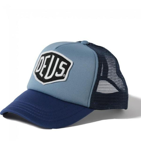 Deus Baylands Trucker Blue Navy