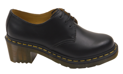 Dr Martens Amory Black Leather Smooth