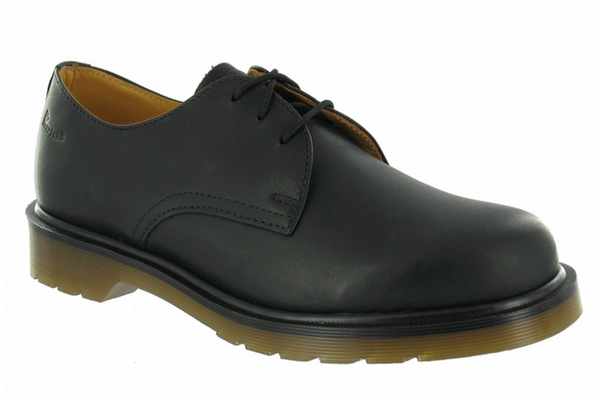 Dr Martens 1462 PW Black Nappa Leather Shoe 11834004