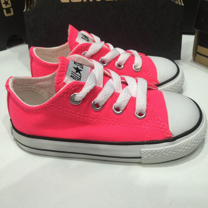 Converse Infants Ox Spec Neon Pink