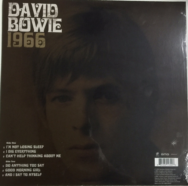 David Bowie Vinyl 1966 Record Store Day Special 50th Anniversary Release Limited Edition Famous Rock Shop. 517 Hunter Street Newcastle, 2300 NSW Australia