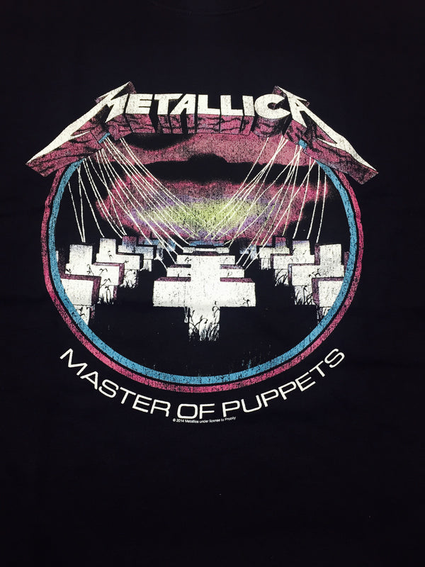 Metallica Master of Puppets T-Shirt Famous Rock Shop Newcastle 2300 NSW Australia