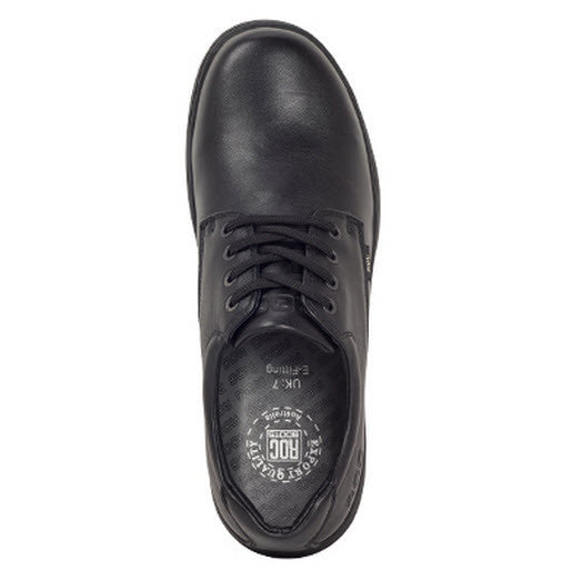 Roc Boots Elite provides ultimate comfort and support for daily wear. Leather Upper Leather Tongue & Quarter Lining Durable Light Weight Sole E/F/G Multi-Fit Innersoles Roc Boots Elite Black ShoeFamous Rock Shop 517 Hunter Street Newcastle 2300 NSW Australia