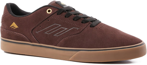 Emerica Reynolds Low Vulc Brown Gum Gold 6102000096230 Famous Rock Shop Newcastle 2300 NSW Australia