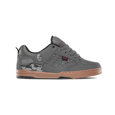 Etnies Metal Mulisha Cartel Grey Gum 4107000426 Famous Rock Shop 517 Hunter Street Newcastle 2300, Australia.