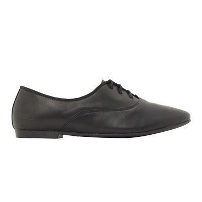 Roc Fanfare Black Leather Shoes