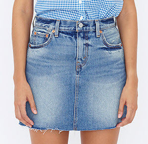 Levi's Icon Skirt Ferry Blue