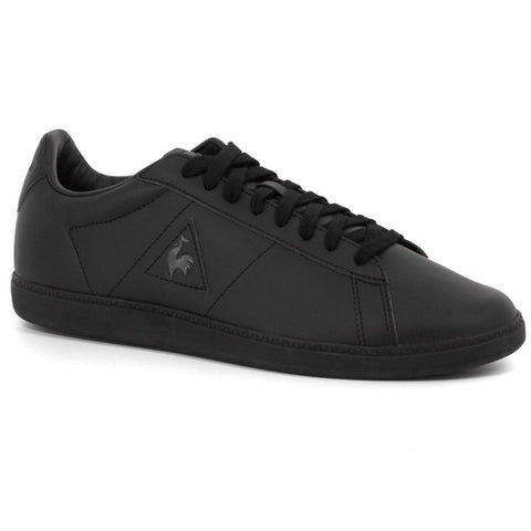 Le Coq Sportif Courtset S Lea Optical Black Dark Full Gray