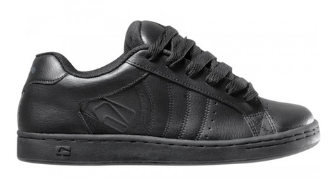 Globe Focus Black Leather Skate Shoe Traditional old school skate shoe in black leather Focus by Globe Brand.  Famous Rock Shop Newcastle, 2300 NSW Australia