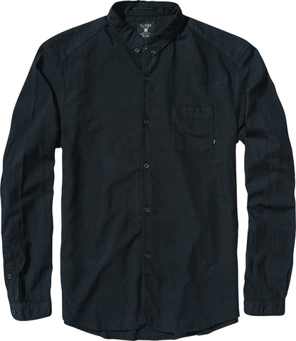 Globe Goodstock Oxford Shirt Black Famous Rock Shop Newcastle 2300 NSW Australia