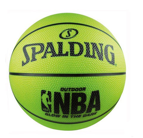 Spalding NBA Glow in the Dark Outdoor Basketball