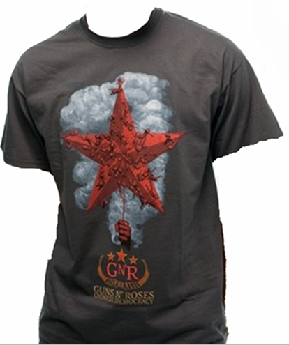 Guns N' Roses T-Shirt Licensed Bravado Famous Rock Shop Newcastle 2300 NSW Australia 100% Cotton