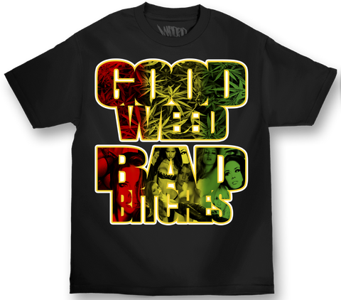 Mafioso Good Weed T-Shirt Black