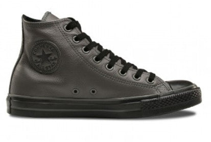 Converse Chuck Taylor All Star 132096c LEATHER Charcoal