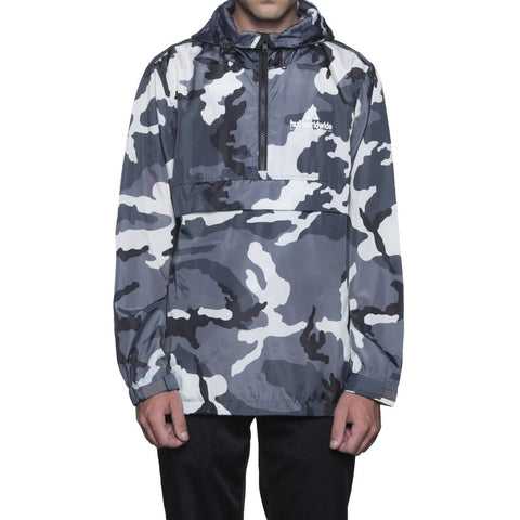 HUF Peak Anorak Jacket JK00079 White Camo Famous Rock Shop Newcastle NSW Australia