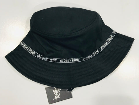 Stussy LA Tribe Bucket Hat Black ST795026