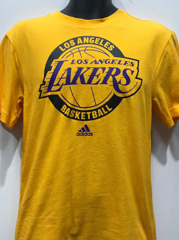 Adidas Smr Run Tee Lakers Yellow & Purple & Black