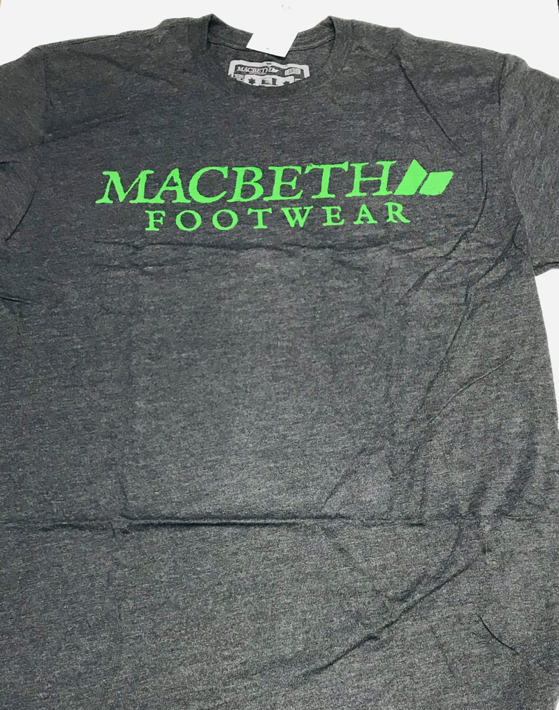 Macbeth Vintage Logo Heather Charcoal