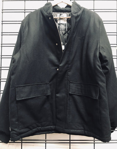 Stussy Hank Jacket Black ST097505 Famous Rock Shop Newcastle 2300 NSW Australia