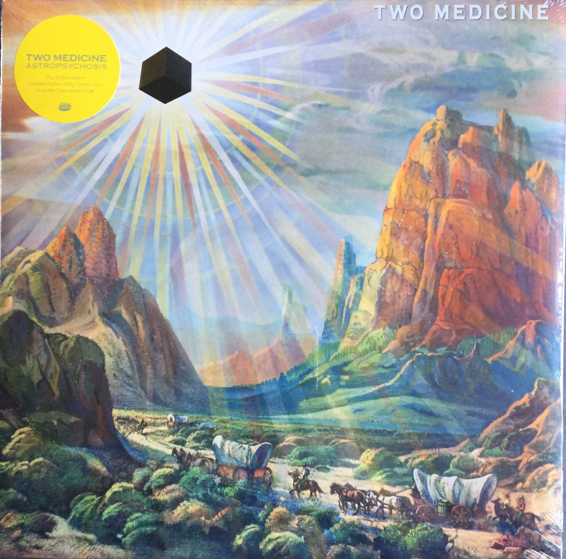 Two Medicine Astropsychosis Limited Edition 180g Green Vinyl LP Includes Download Code BELLA840V