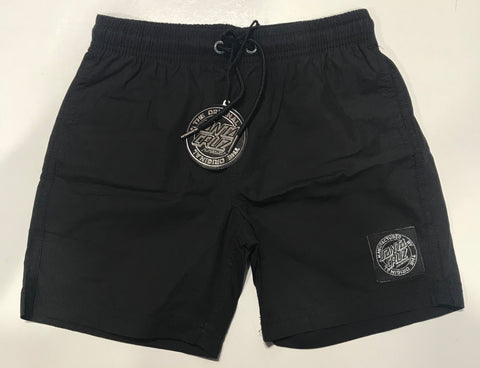Santa Cruz Cruzier Solid Short Youth Black SC-YBNC262
