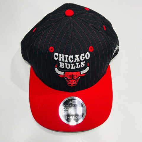 New Era Chicago 9FIFTY Bulls Snapback Red and Black 11587537