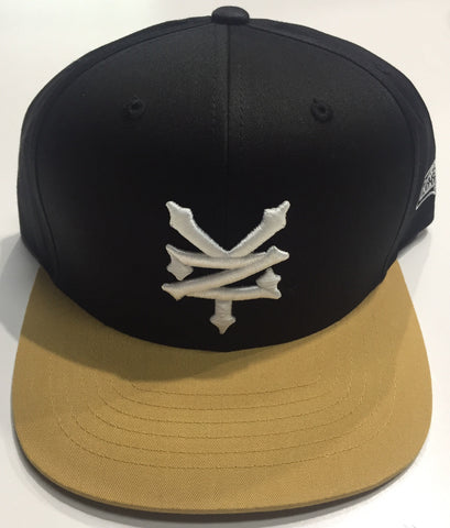Zoo York Duality Snapback Black Gold Hat
