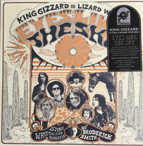 King Gizzard And The Lizard Wizard Eyes Like The Sky Halloween Orange Vinyl LP