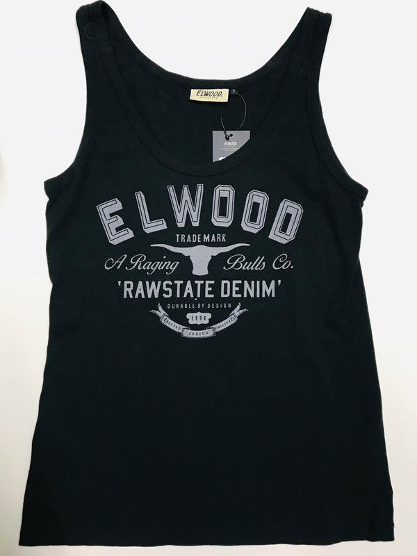 Elwood Shadow 96 Tank Vintage Black W0830203