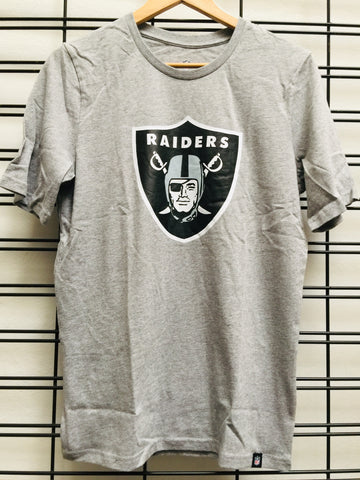 Majestic Athletic NFL Oakland Raiders Prism Kids Tee Grey 7K1B7FB58