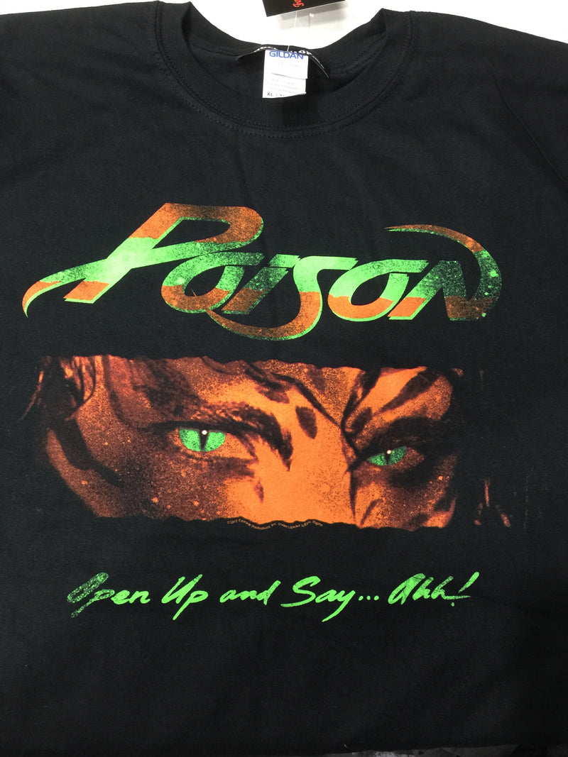 Poison Open Up And Say Ahh tee t-shirt