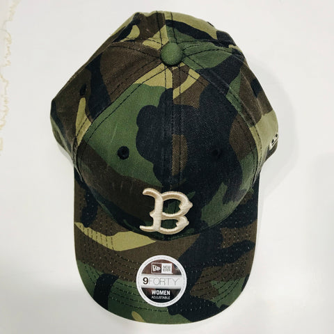 New Era Boston 9Forty Women's Adjustable Cap Camo 11587445 Famous Rock Shop Newcastle 2300 NSW Australia