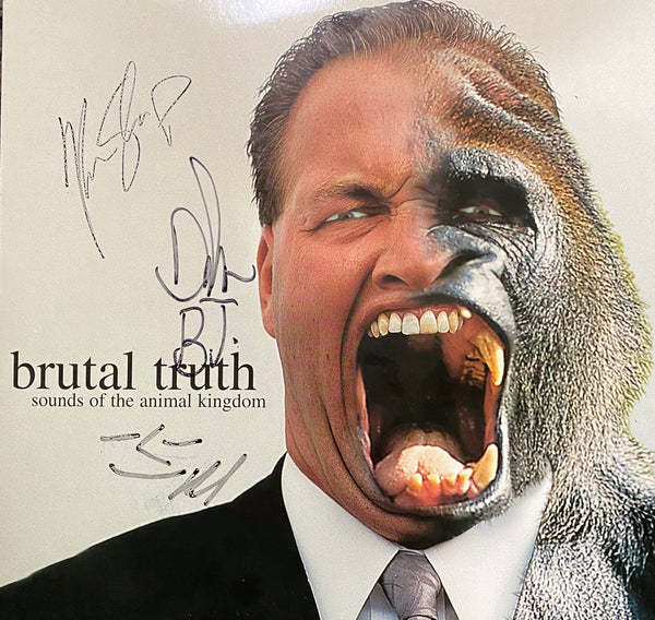 Brutal Truth - Sounds Of The Animal Kingdom Limited Edition Autographed Vinyl LP