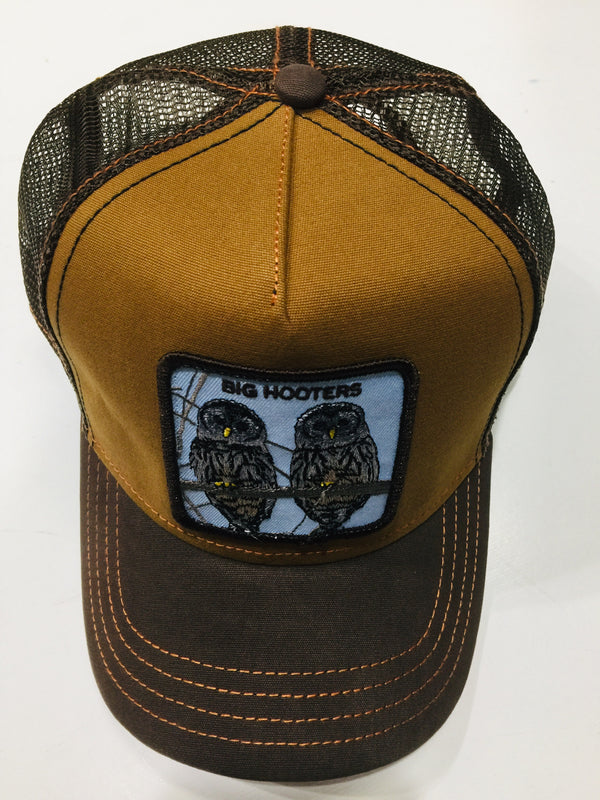 Goorin Bros Hooters Brown Trucker Hat