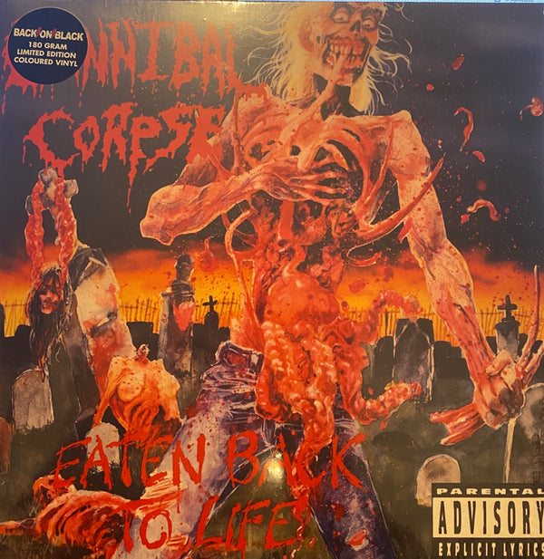 Cannibal Corpse Eaten Back to Life Limited Edition Coloured Vinyl