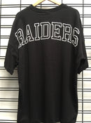Majestic Athletic Oakland Raiders Carn Oversized Tee Black MOR7057DB